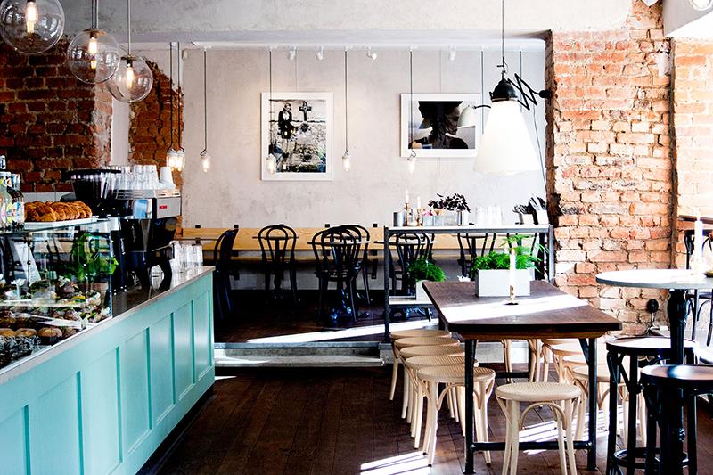 Quán cafe phong cách bắc âu scandinavian