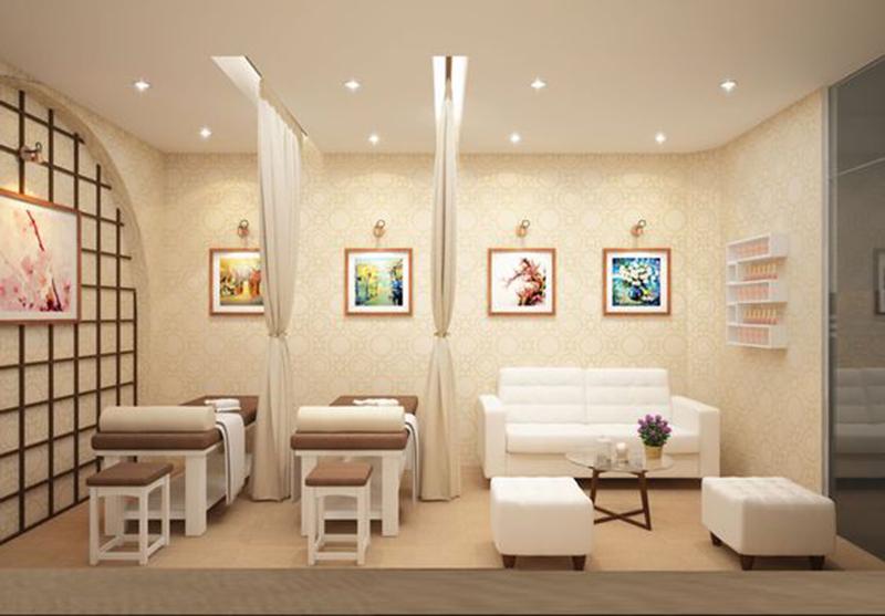 Thiết kế nội thất spa nhỏ đẹp - Mini tại nhà