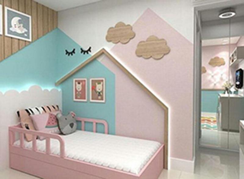 Tạo không gian thoải mái và tươi sáng cho phòng ngủ của bé