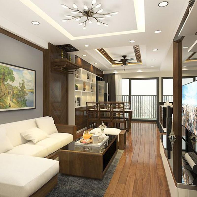 Thiết kế nội thất chung cư 60m2 siêu đẹp - siêu tiết kiệm tại Opan Việt Nam