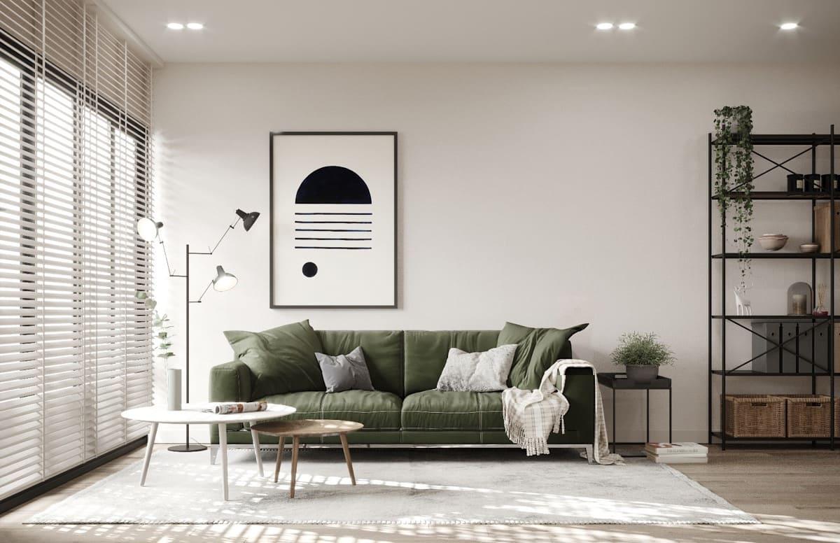 Thiết kế nội thất căn hộ nhỏ đẹp