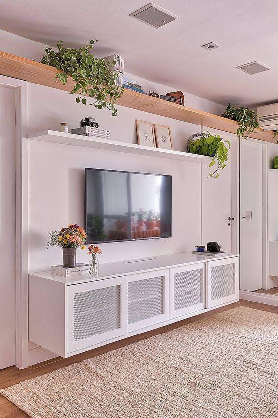 Tối giản đồ trang trí nội thất và sử dụng ánh sáng nhân tạo nhiều hơn cho căn phòng
