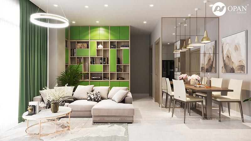 Thiết kế nội thất chung cư - Tạo điểm nhấn nổi bật thu hút ánh nhìn