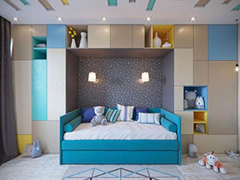 Thiết kế phòng ngủ bé trai đẹp - sáng tạo cùng Opan Việt Nam