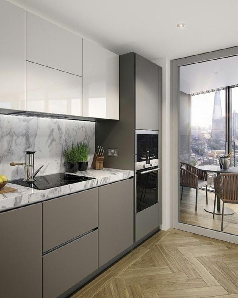 Gạch lát cho phòng bếp hiện đại