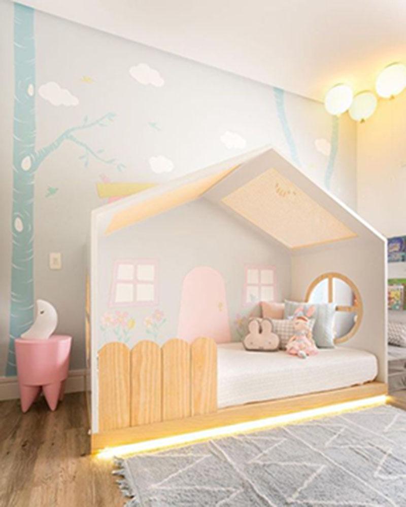 Đặt yếu tố sáng tạo trong thiết kế phòng ngủ cho bé