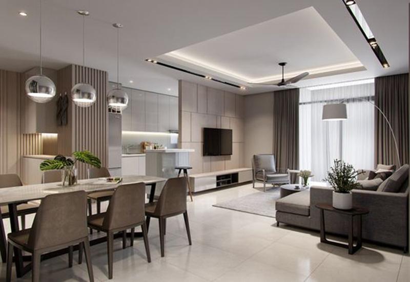 Báo giá thi công nội thất căn hộ chung cư