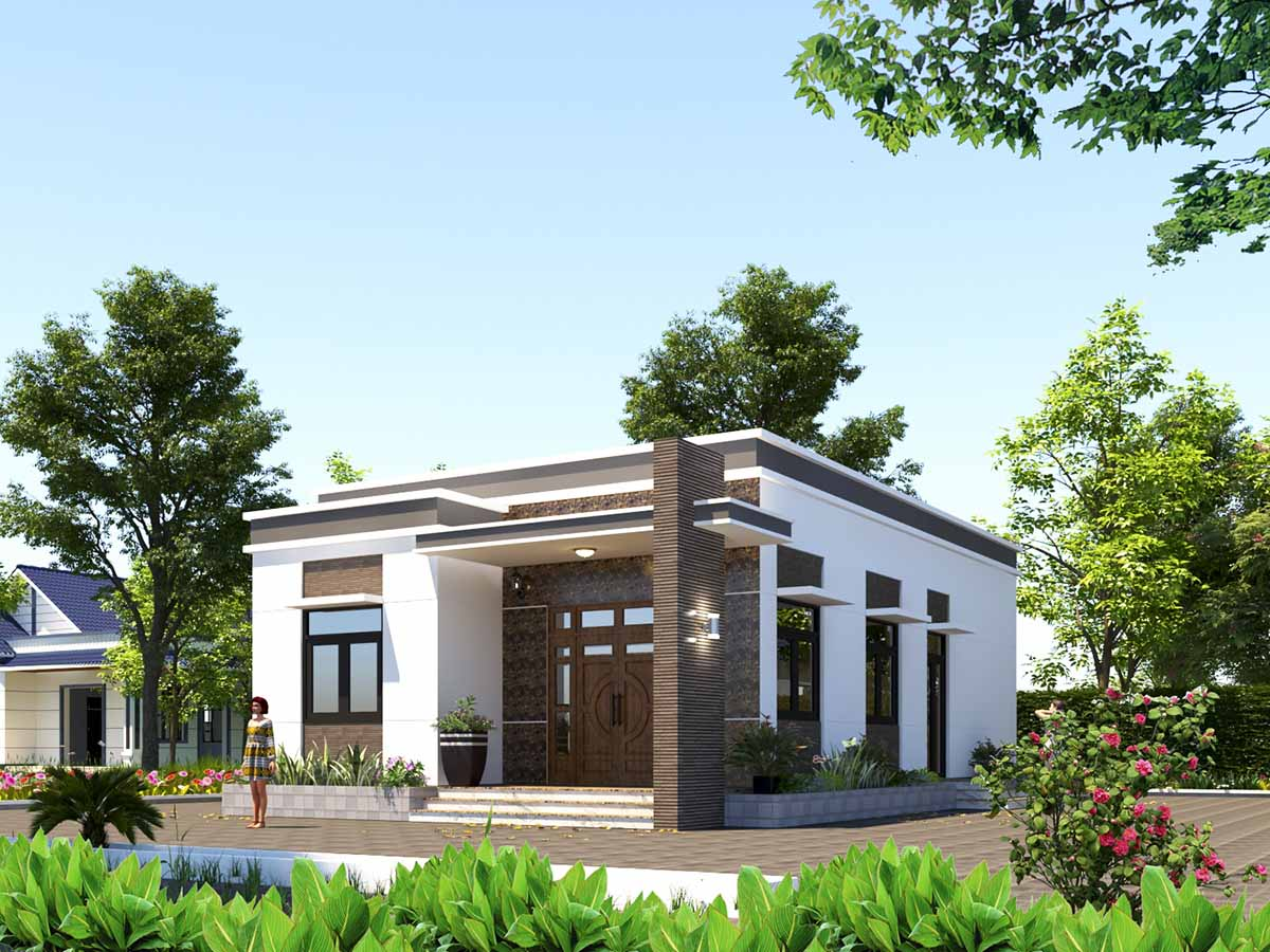 Thiết kế xây dựng nhà cấp 4 đẹp với chi phí hợp lý