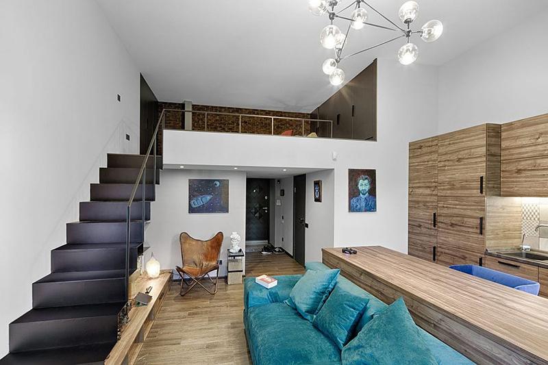 TOP 10+ Mẫu Nhà gác lửng nhỏ đẹp - OPAN Thiết Kế Nội Thất Đẹp & Giá Rẻ & Tối ưu diện tích