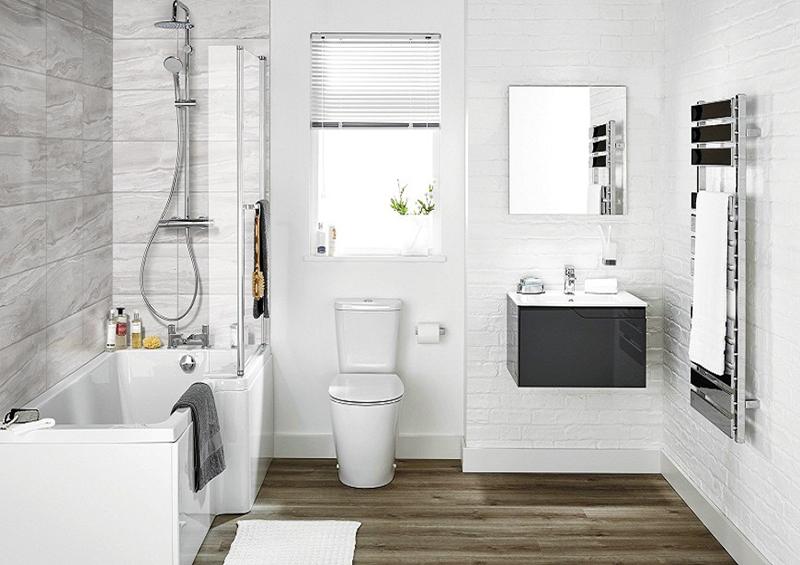 Thiết kế phòng tắm cho nhà cấp 4 đẹp 100m2