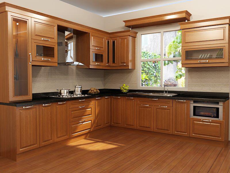 Thiết kế phòng bếp cho nhà cấp 4 đẹp 100m2