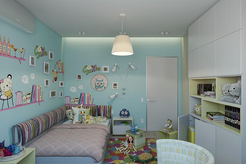 Cách thiết kế phòng ngủ cho bé gái 11 tuổi