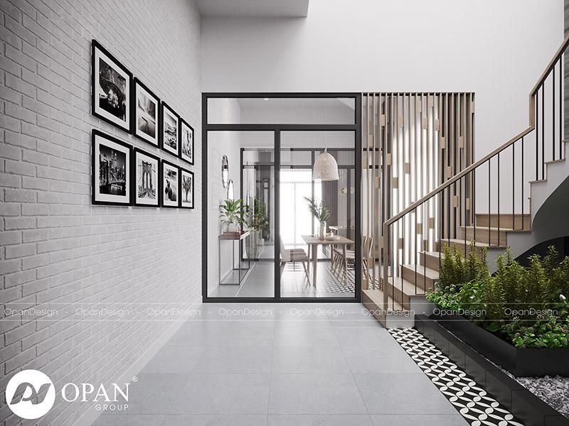Thiết kế nội thất nhà phố hạng mục cầu thang nhà ở