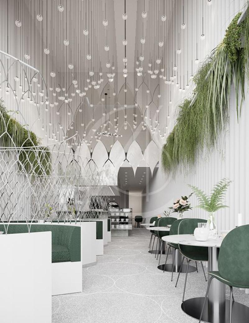 Thiết kế nội thất nhà hàng theo lựa chọn phong cách khác nhau