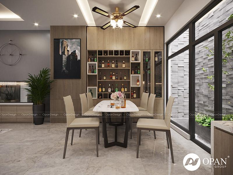 Thiết kế nội thất căn hộ anh An