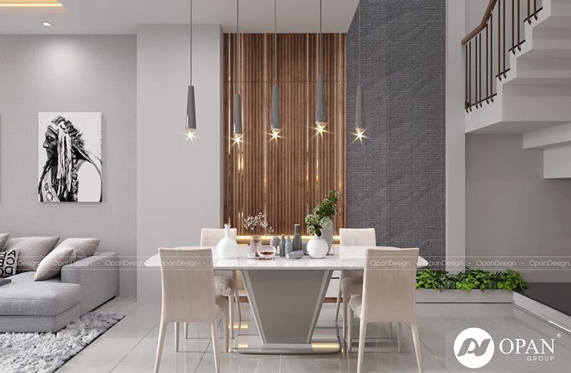 Thiết kế nội thất căn hộ chị Phượng