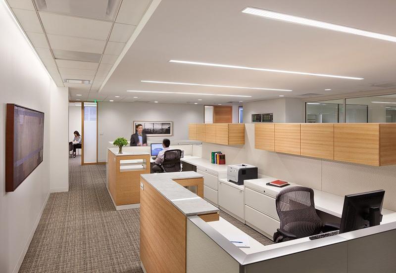 Thiết kế thi công phòng làm việc nhân viên