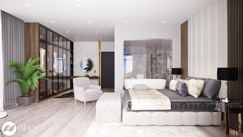 Thiết kế nội thất biệt thự Shang Long