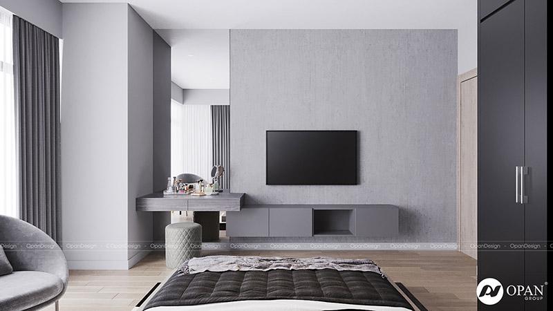 Thiết kế nội thất căn hộ phòng khách