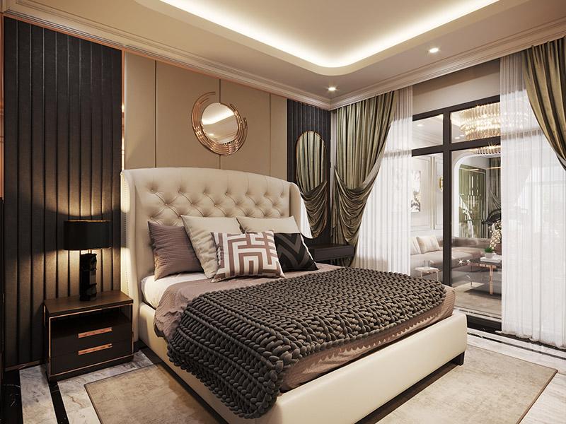 Thiết kế nội thất căn hộanh Nam Phương hạng mục phòng bếp