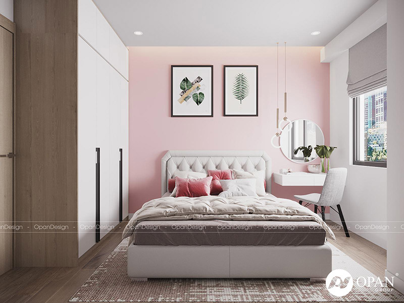 Thiết kế nội thất căn hộ hạng mục phòng ngủ