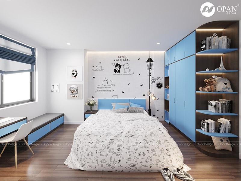 Thiết kế nội thất căn hộ chị Lan Hương