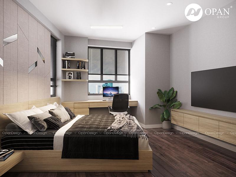 Thiết kế nội thất căn hộchị Ngọc