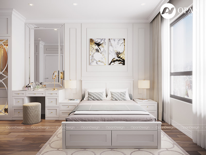 Thiết kế nội thất căn hộ chị Ngọc Kiều
