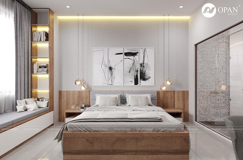 Thiết kế nội thất căn hộ chị Phượng tại không gian phòng khách