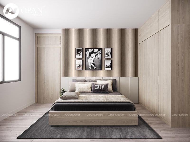 Thiết kế nội thất nhà phố anh Minh