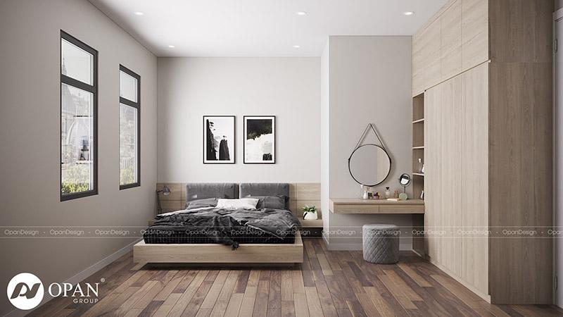 Thiết kế nội thất nhà phố chú Dương