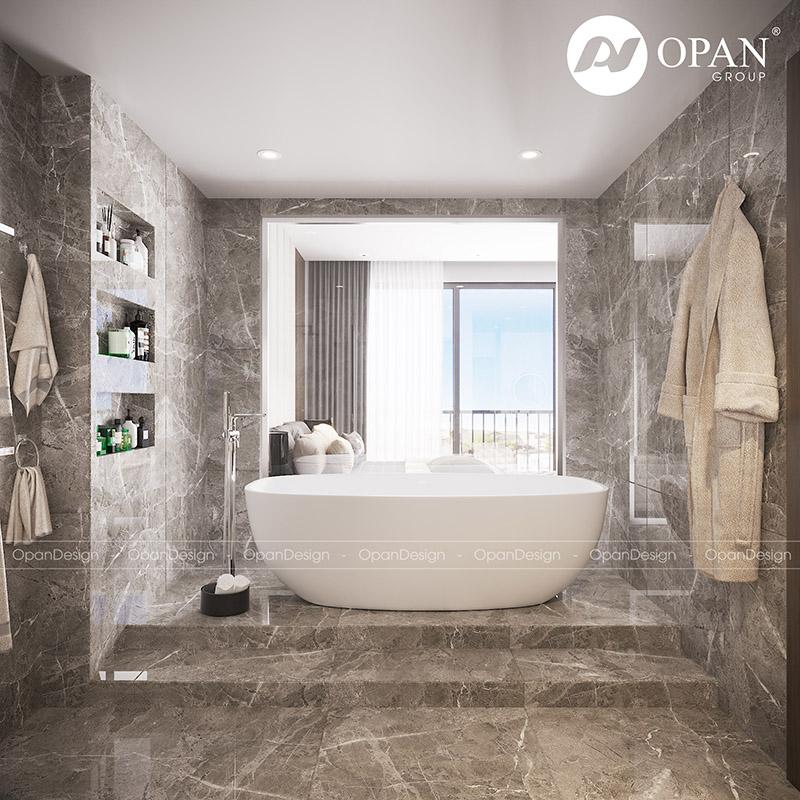 Thiết kế nội thất biệt thự Shang Long hạng mục phòng tắm