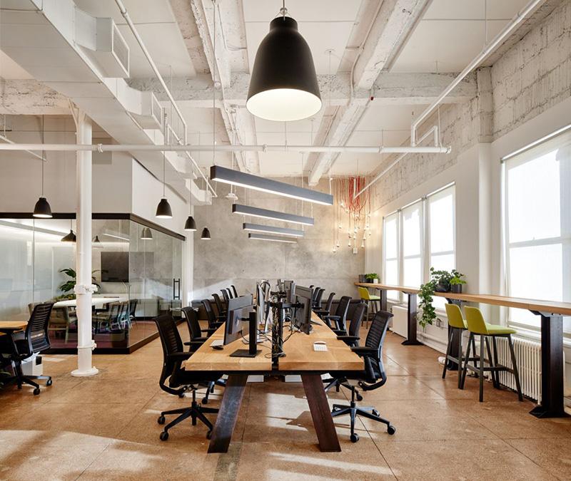 Thiết kế không gian mở ấn tượng