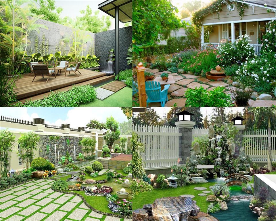 các mẫu thiết kế sân vườn đẹp mắt mà bạn không thể bỏ qua