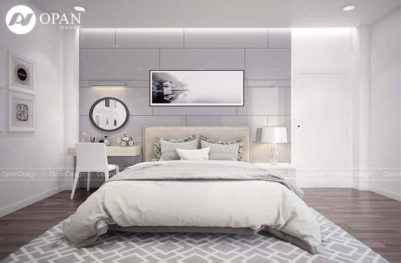 Thiết kế nội thất phòng ngủ sang trọng 12m2