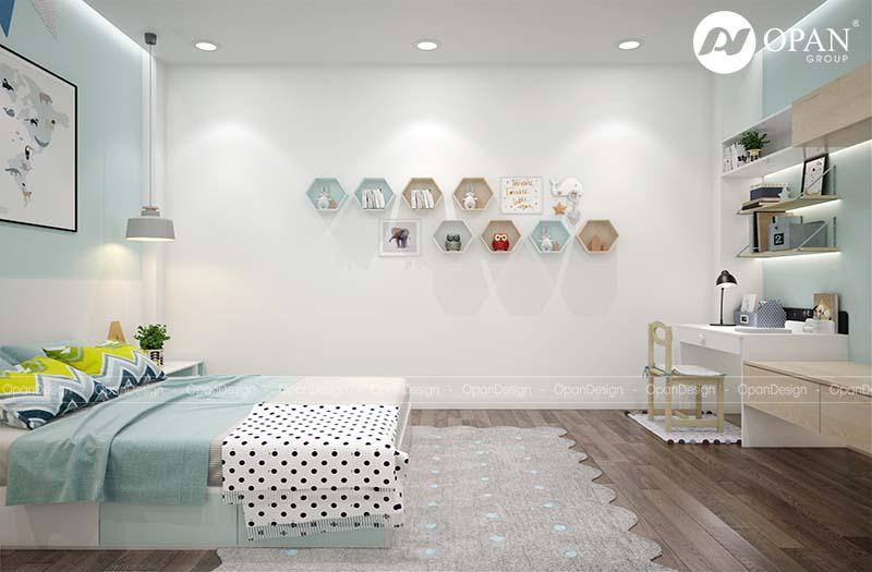 Tiêu chuẩn thiết kế nội thất biệt thự phòng ngủ nhỏ