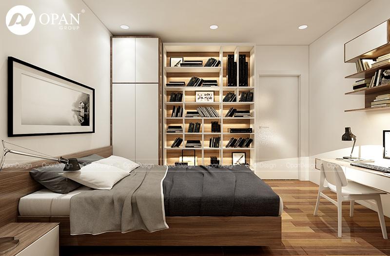 Phong cách châu Âu cho phòng ngủ sang trọng