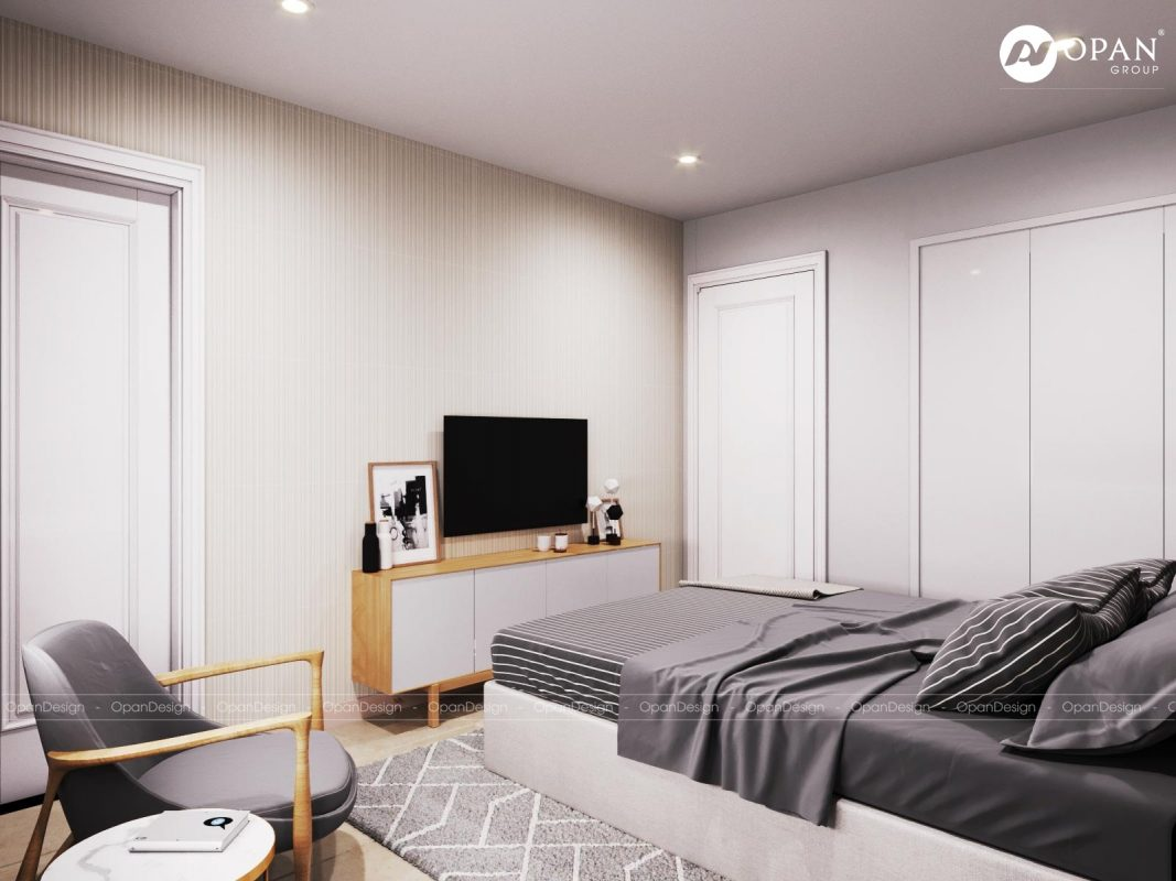 Thiết kế nội thất phòng ngủ phong cách Nhật Bản