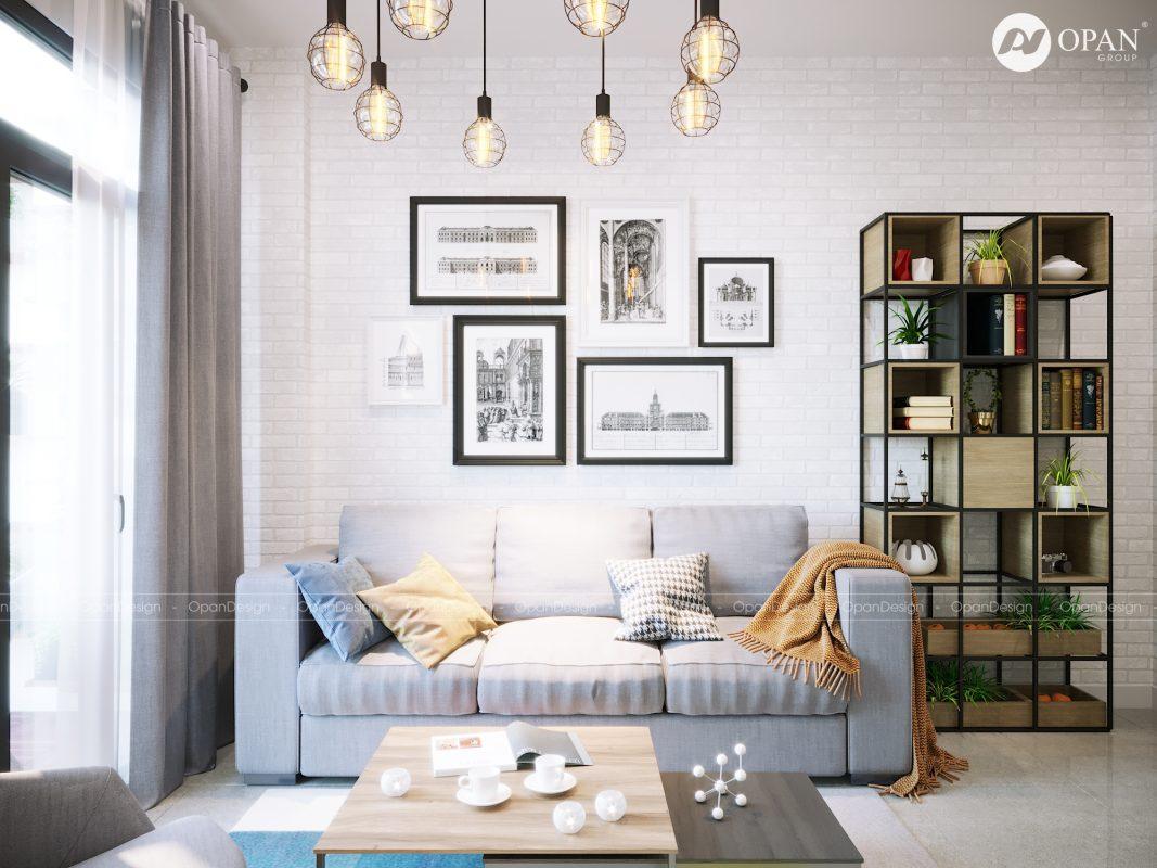 Thiết kế nội thất phòng khách tại Opan Việt Nam