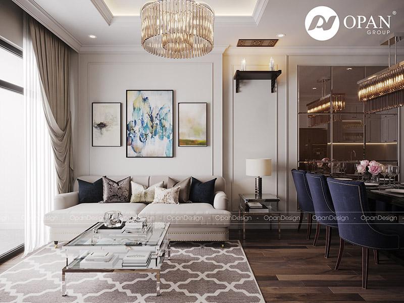 Tối ưu công năng khi thiết kế nội thất chung cư